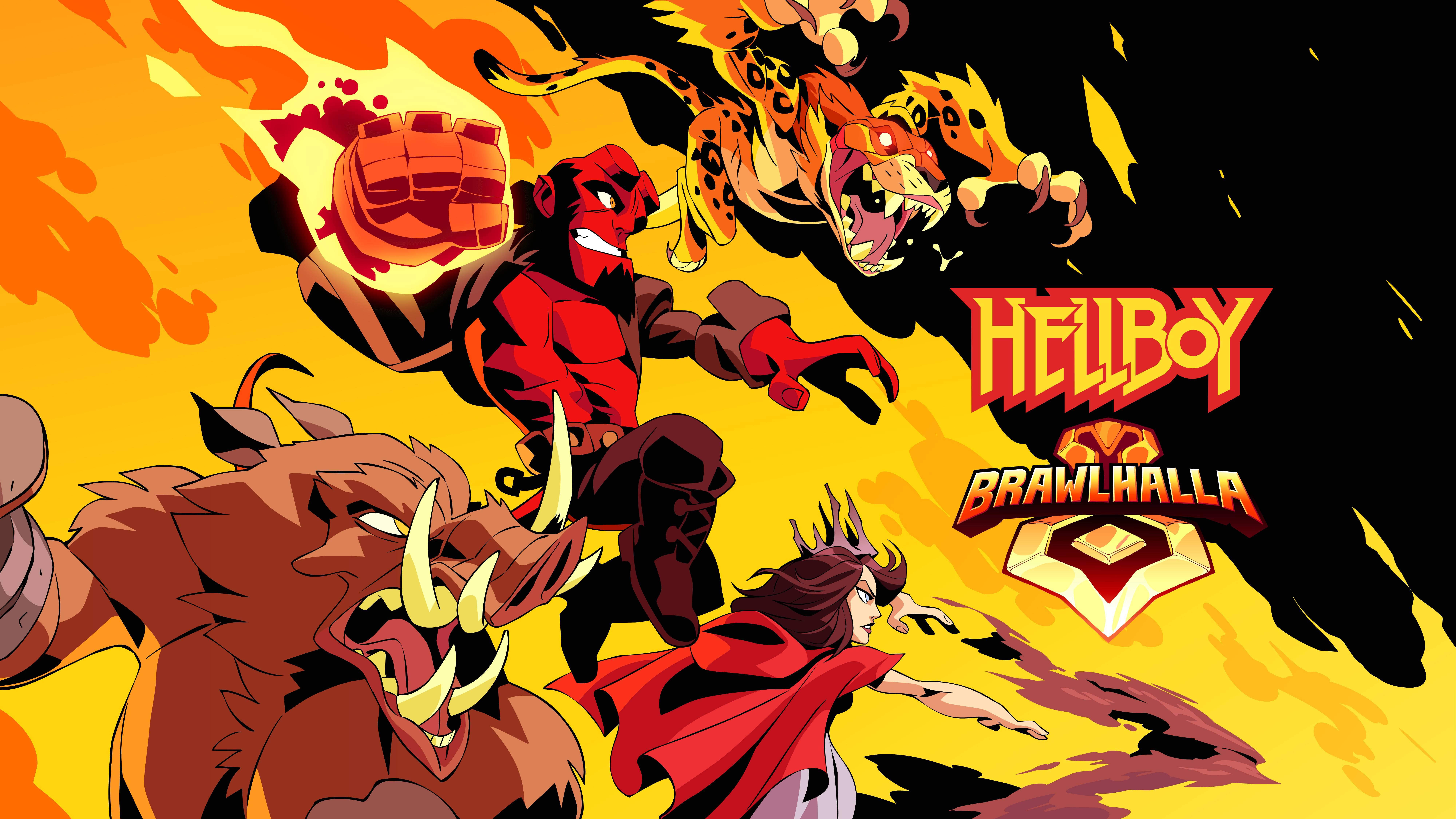 Ubisof lancia Hellboy